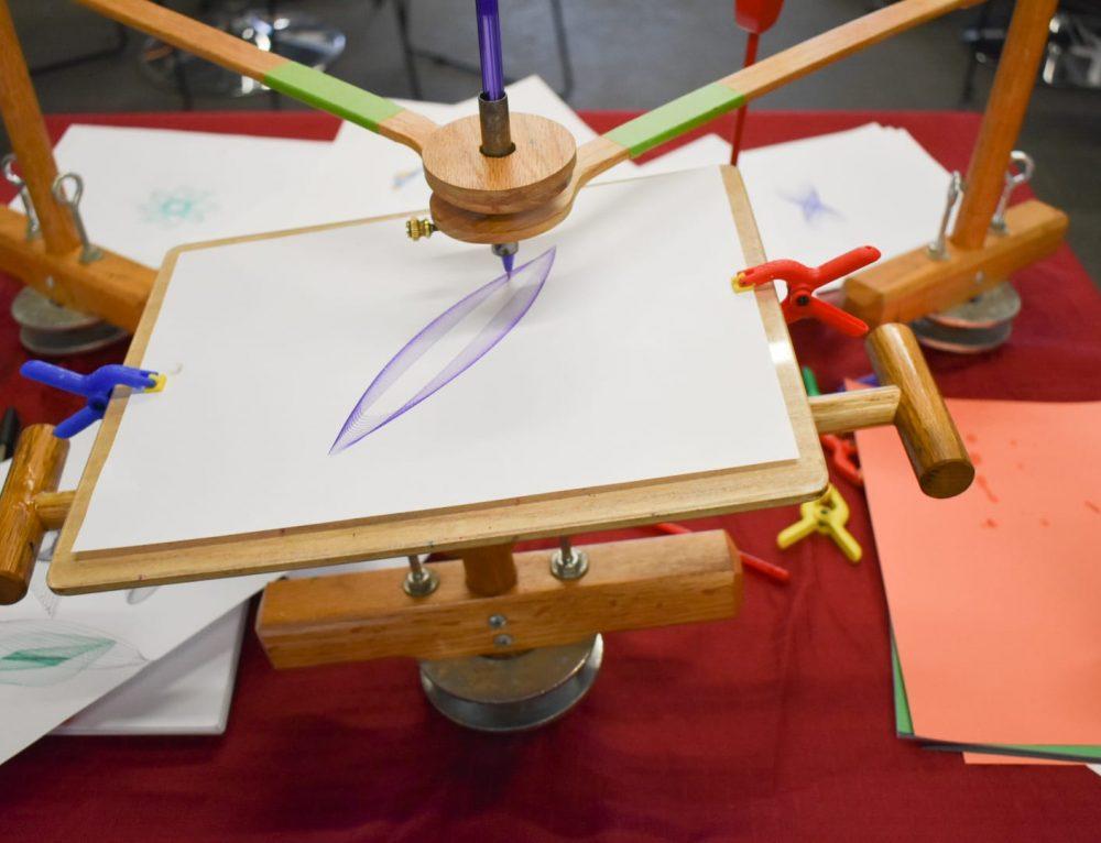 Harmonograph Art at GFAA: February's #CreateInPlace